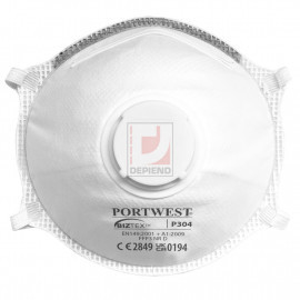 Portwest P304 FFP3 Light Cup Respirator (10 db)
