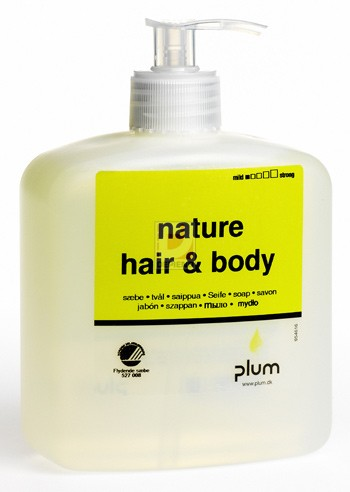 PL1737 Nature Hair and Body utantolto tisztitokendo